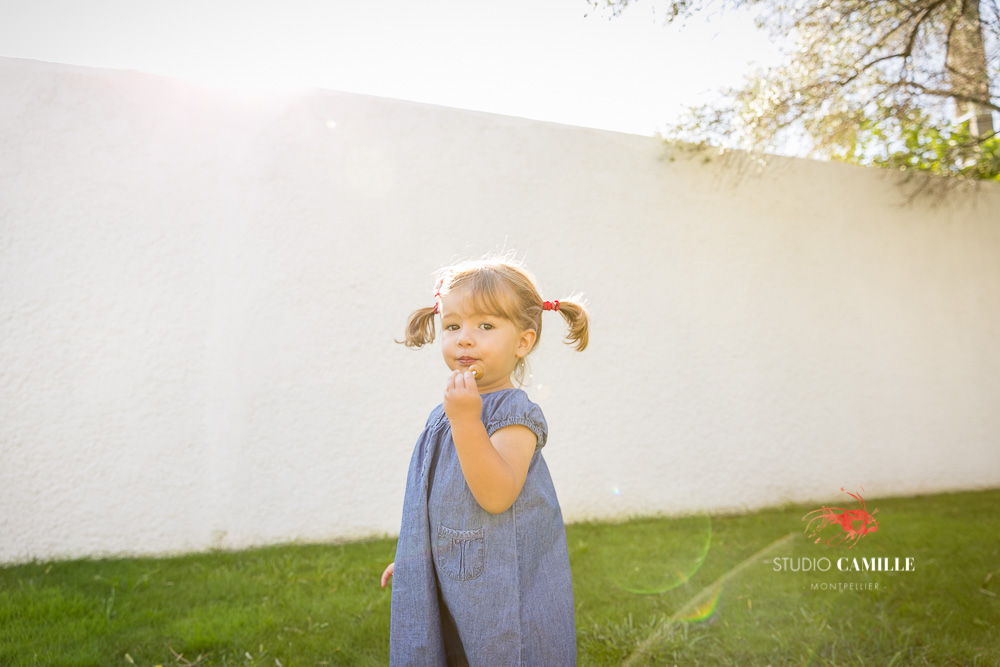 portrait enfant naturel Montpellier Hérault