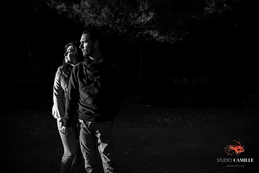 international photographer engagement wedding Montpellier