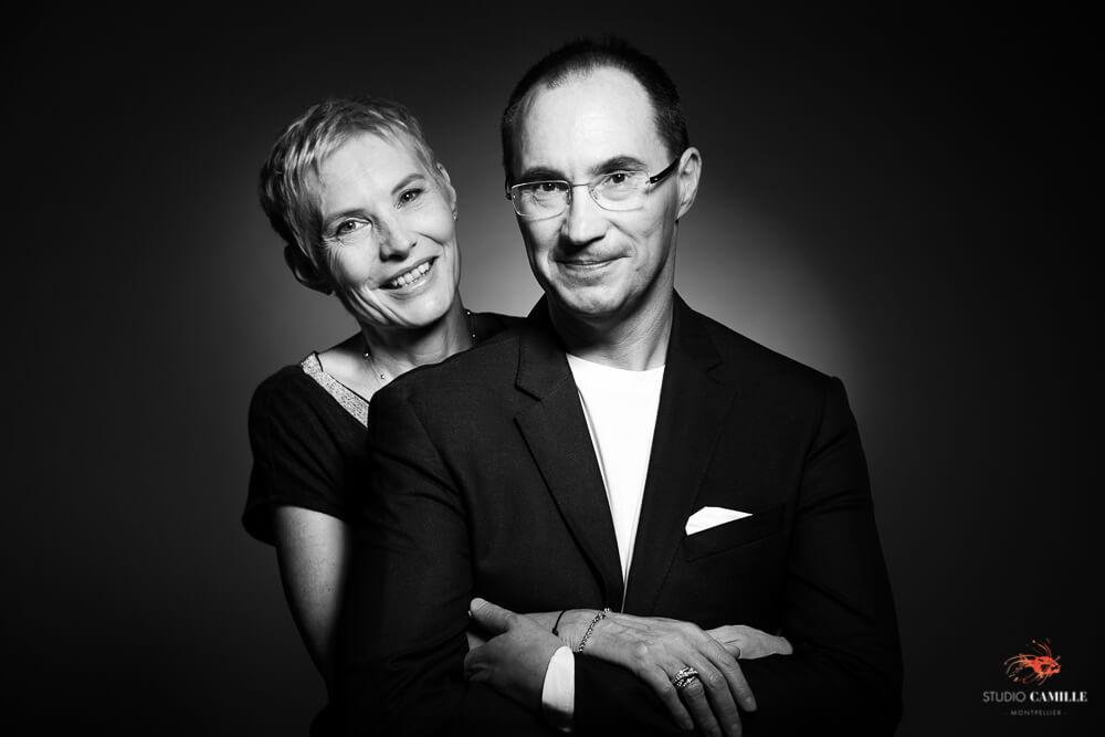 Studio photo Montpellier séance couple