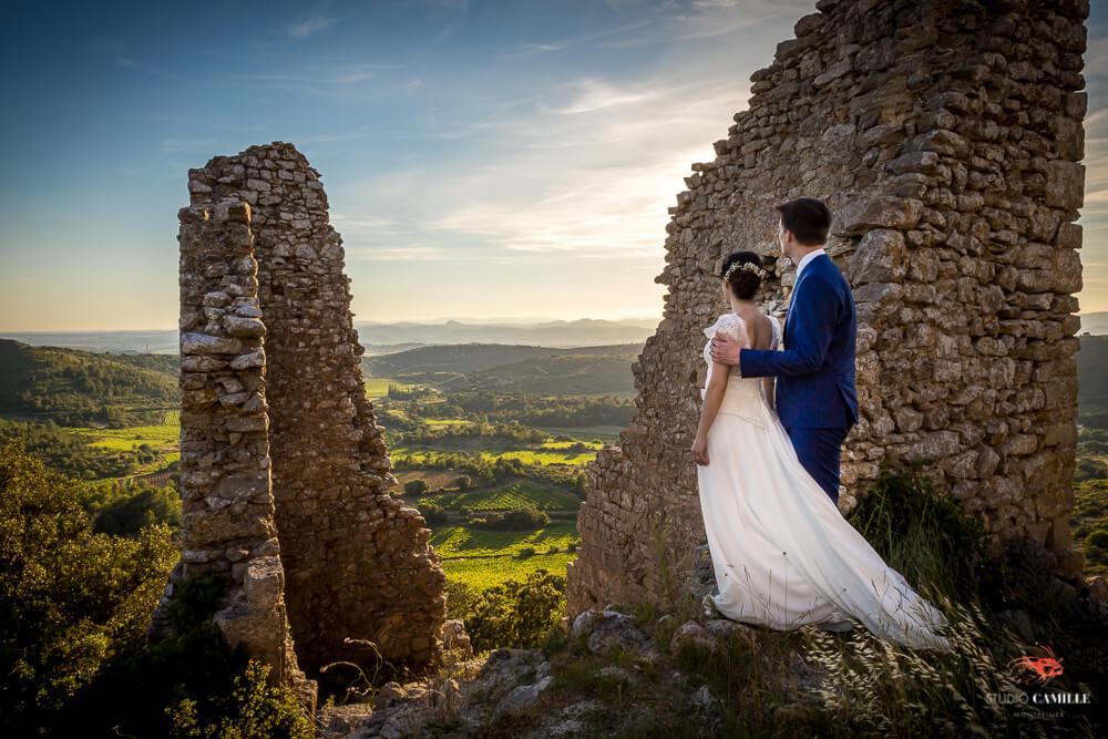 meilleur photographe mariage montpellier beziers