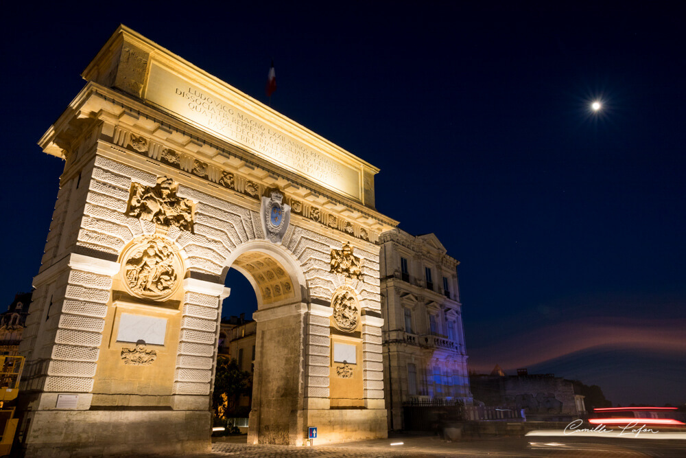 palais de justice arc de triomphe montpellier. Black Bedroom Furniture Sets. Home Design Ideas