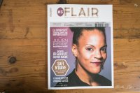 Safi N'Diaye en couverture de Flair-Play Magazine