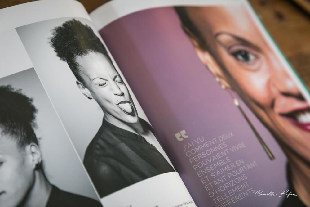 Safi N'Diaye en couverture de Flair-Play Magazine