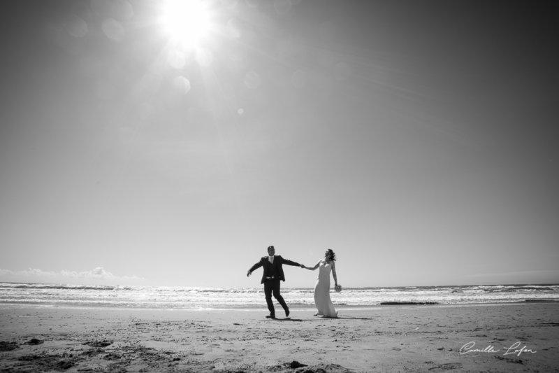 photographe-mariage-montpellier-béziers-plage