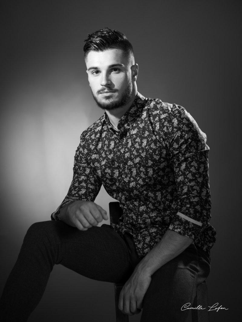 photographe portrait casting harcourt montpellier
