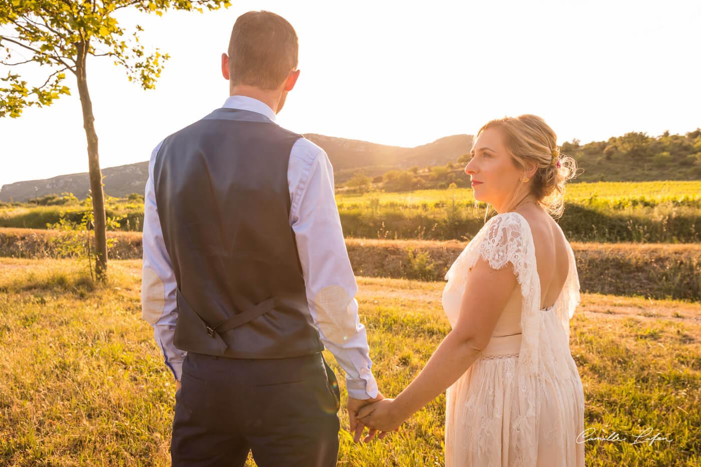 photographe mariage montpellier chateau aumelas