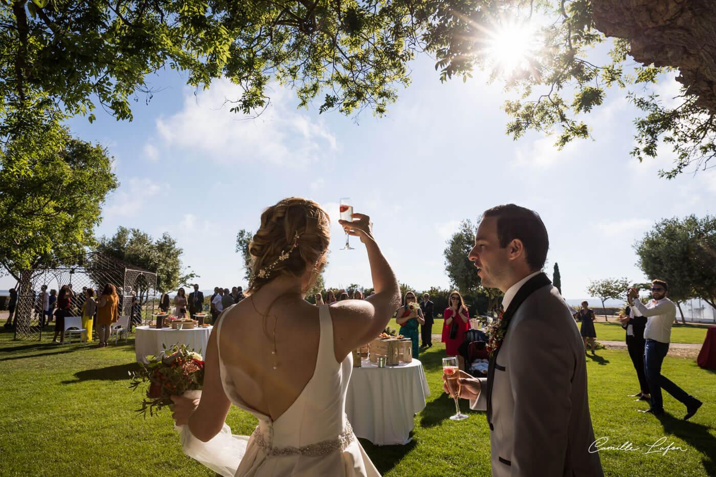 photographe mariage montpellier domaine biar