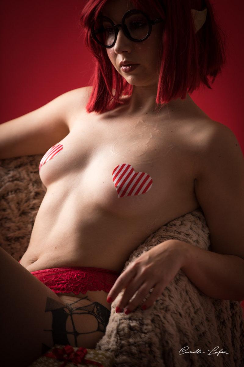 photographe studio montpellier noel sexy