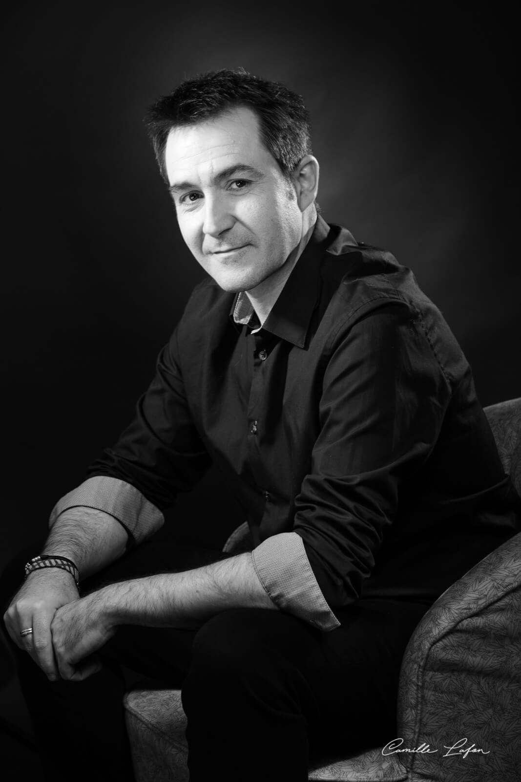 photographe montpellier portrait homme musicien