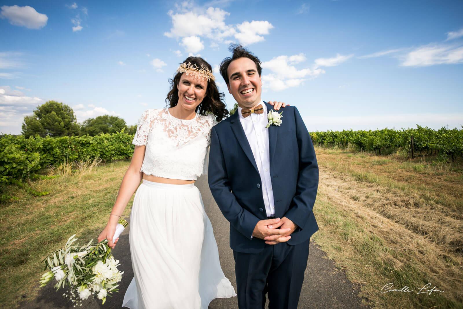 mariage chateau pouget photographe montpellier