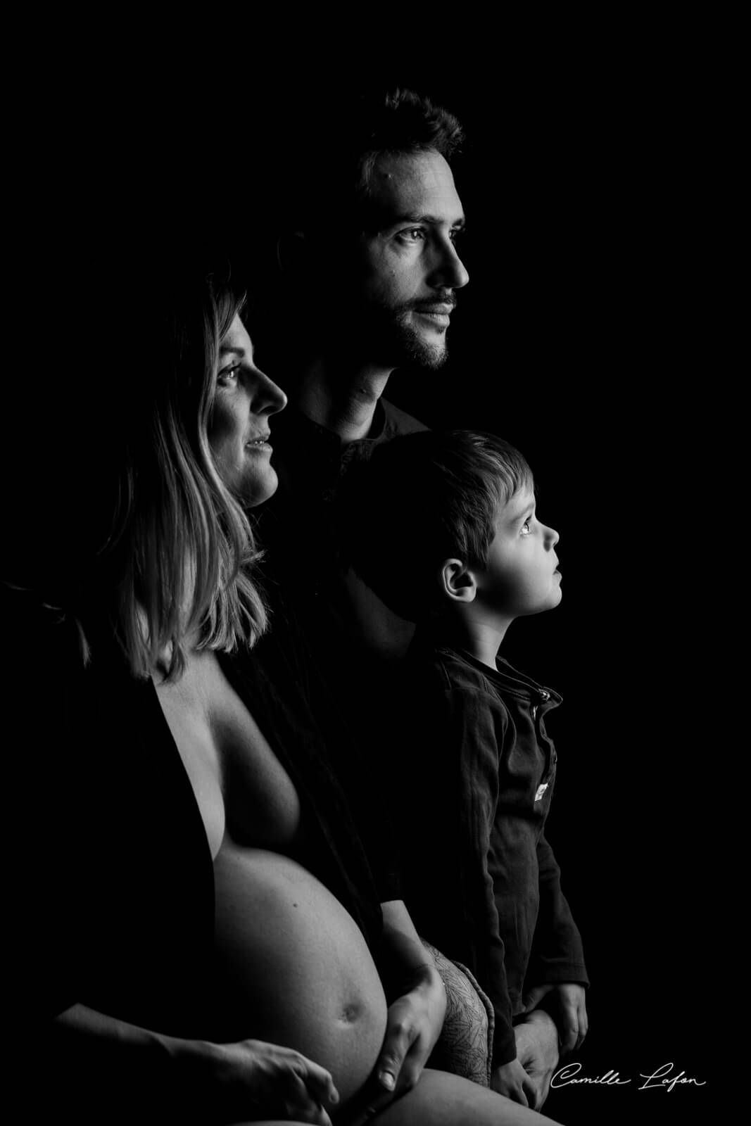 photographe grossesse famille montpellier beziers studio photo