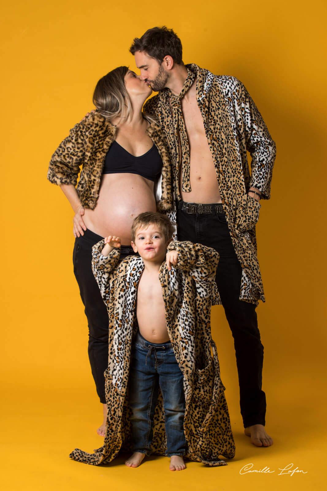 photographe grossesse famille montpellier beziers studio photo
