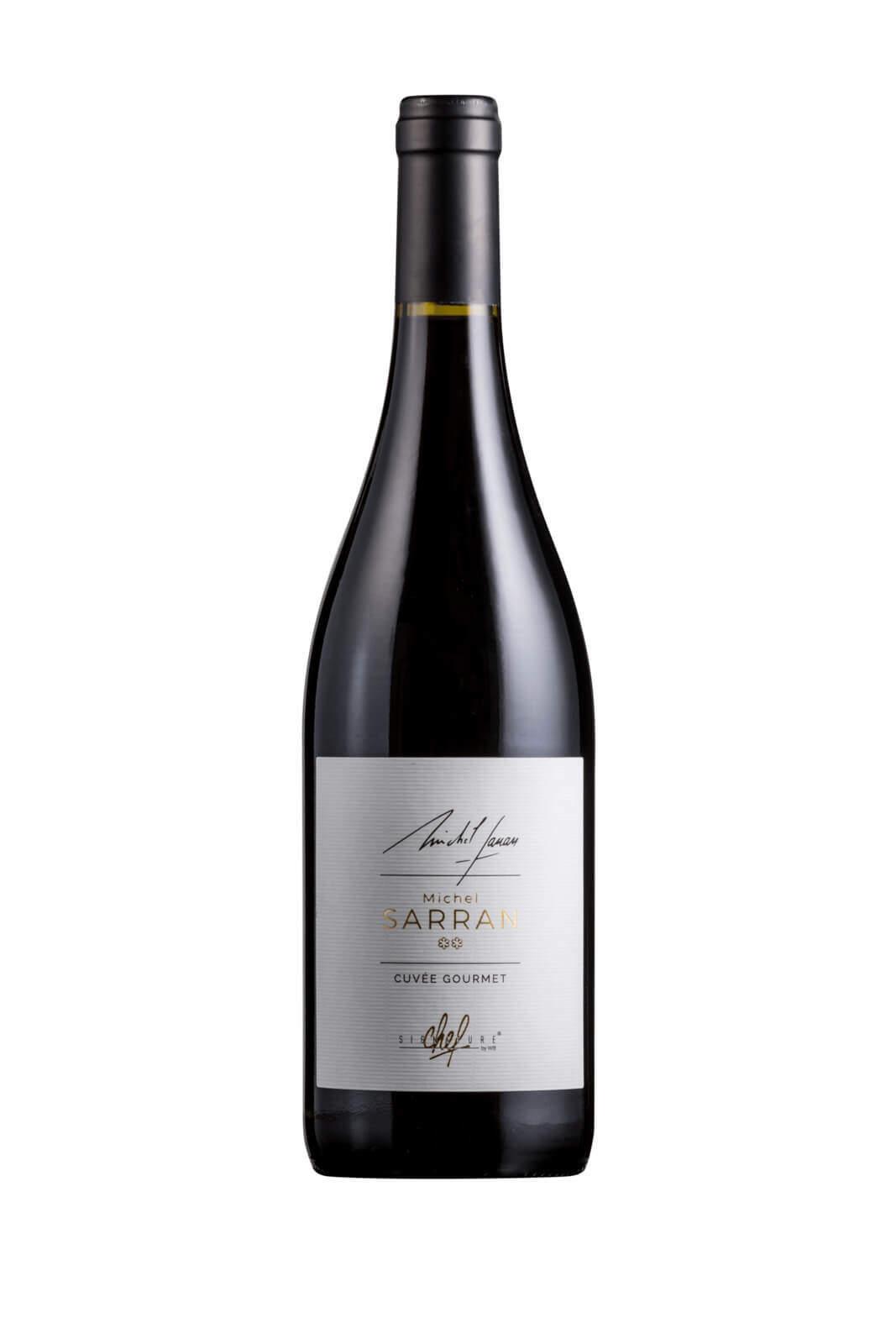 packshot bouteille vin photographe montpellier michel sarran rouge