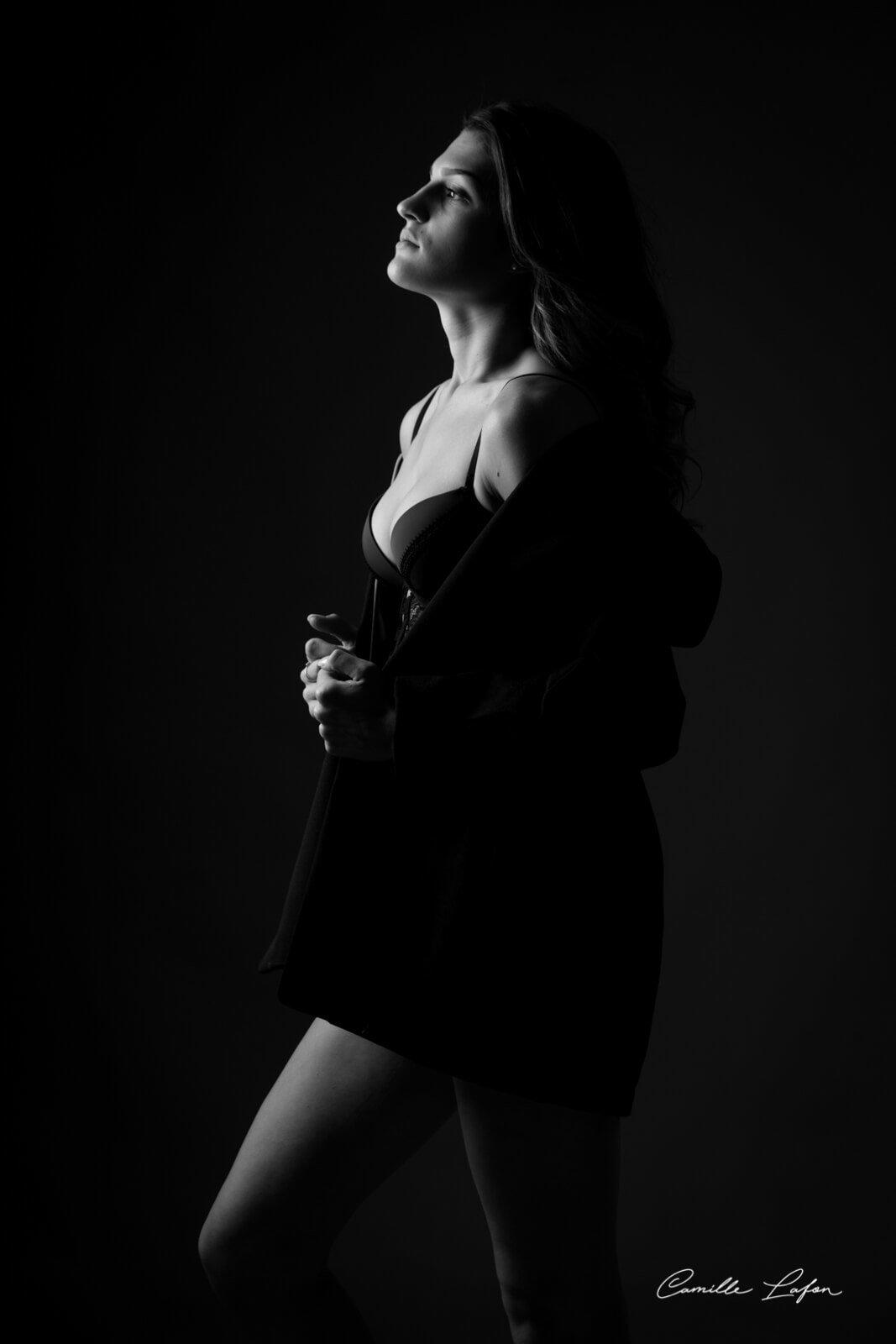 photographe montpellier casting mannequin lingerie studio mode
