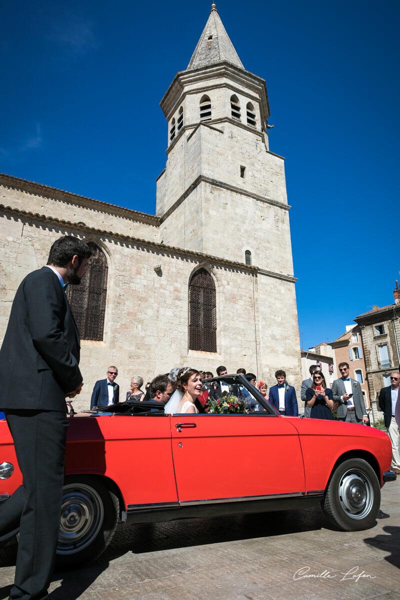 photographe mariage chateau sainte cecile montpellier béziers