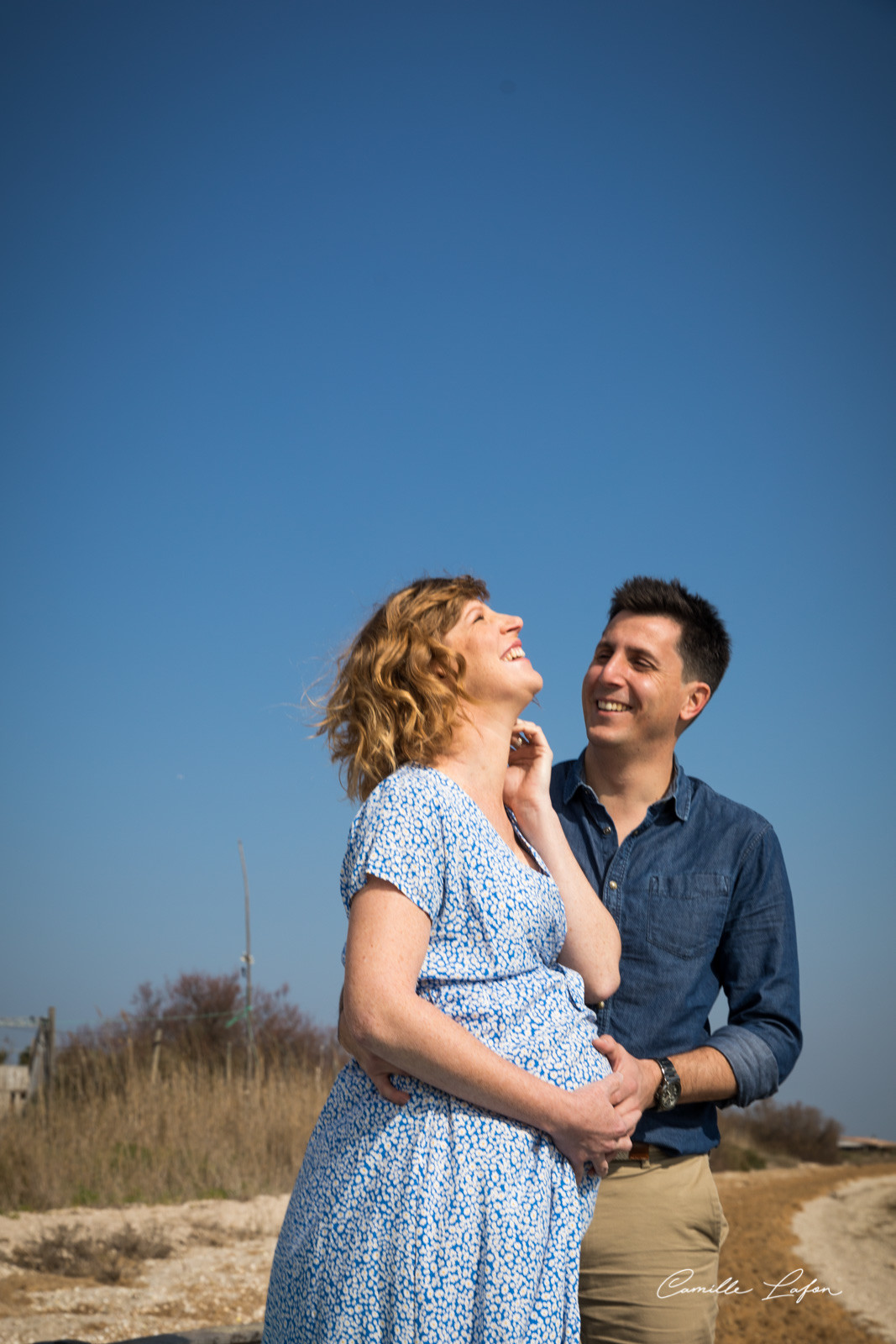 photographe famille grossesse montpellier plage studio