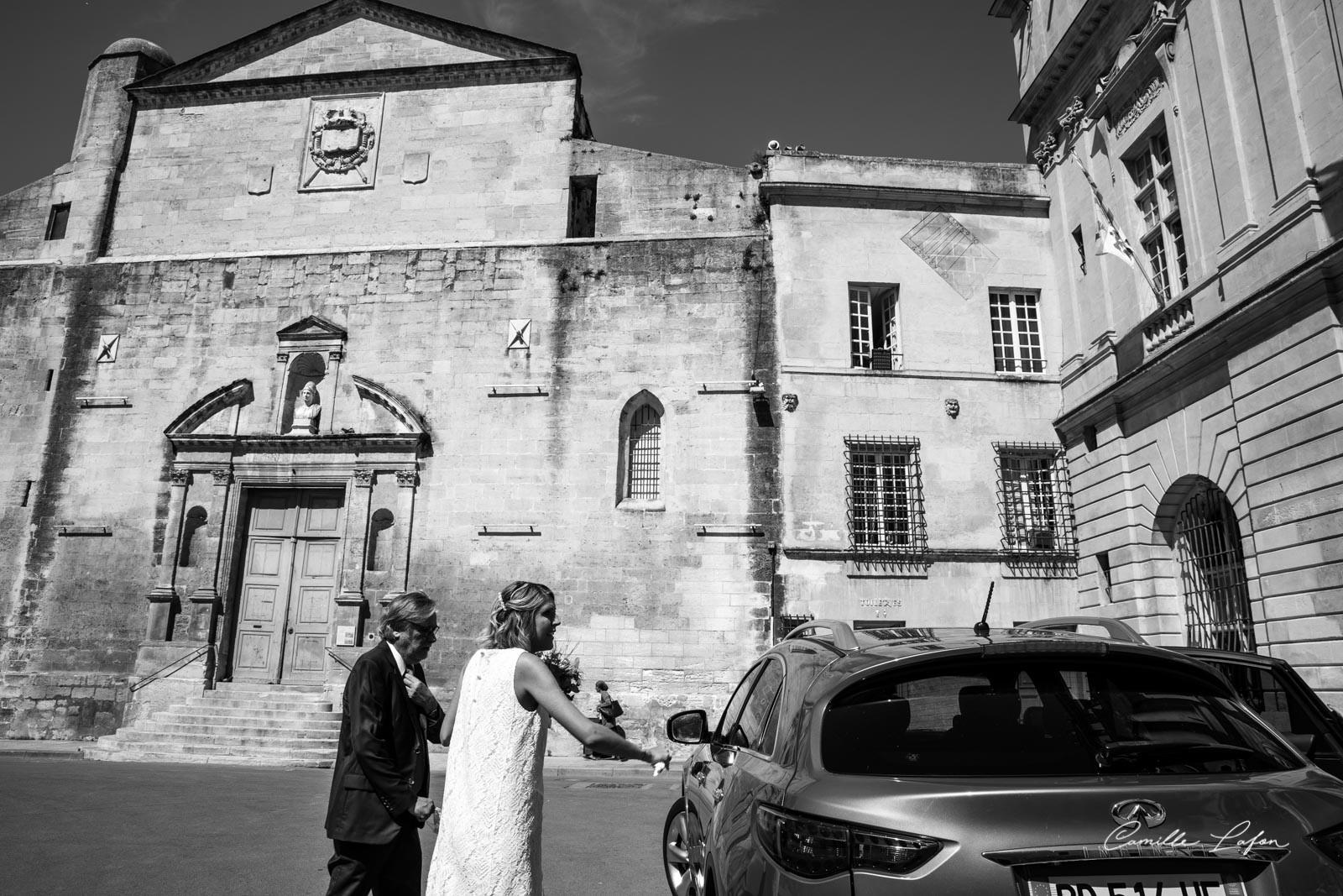 photographe mariage montpellier arles nimes de carolis
