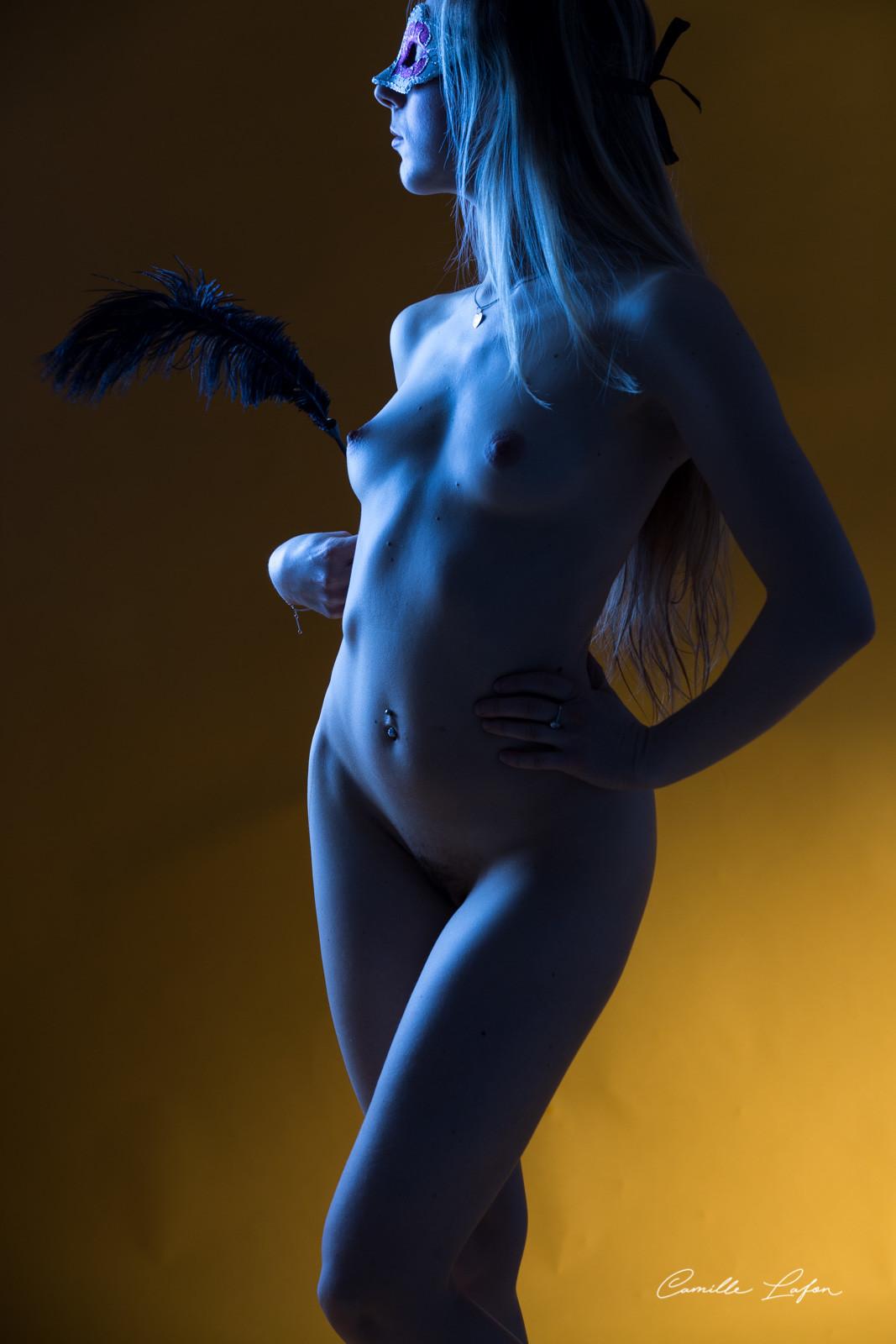 photographe montpellier boudoir nu ballerine elegante