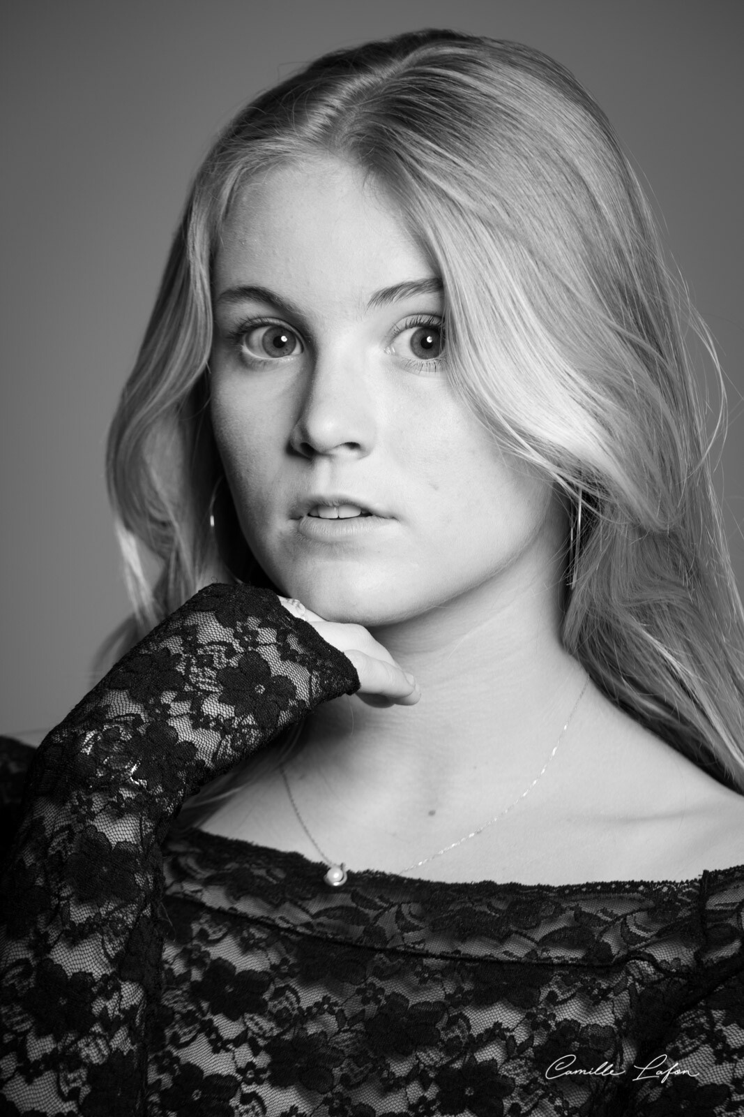 photographe montpellier portrait studio cadeau jeune femme