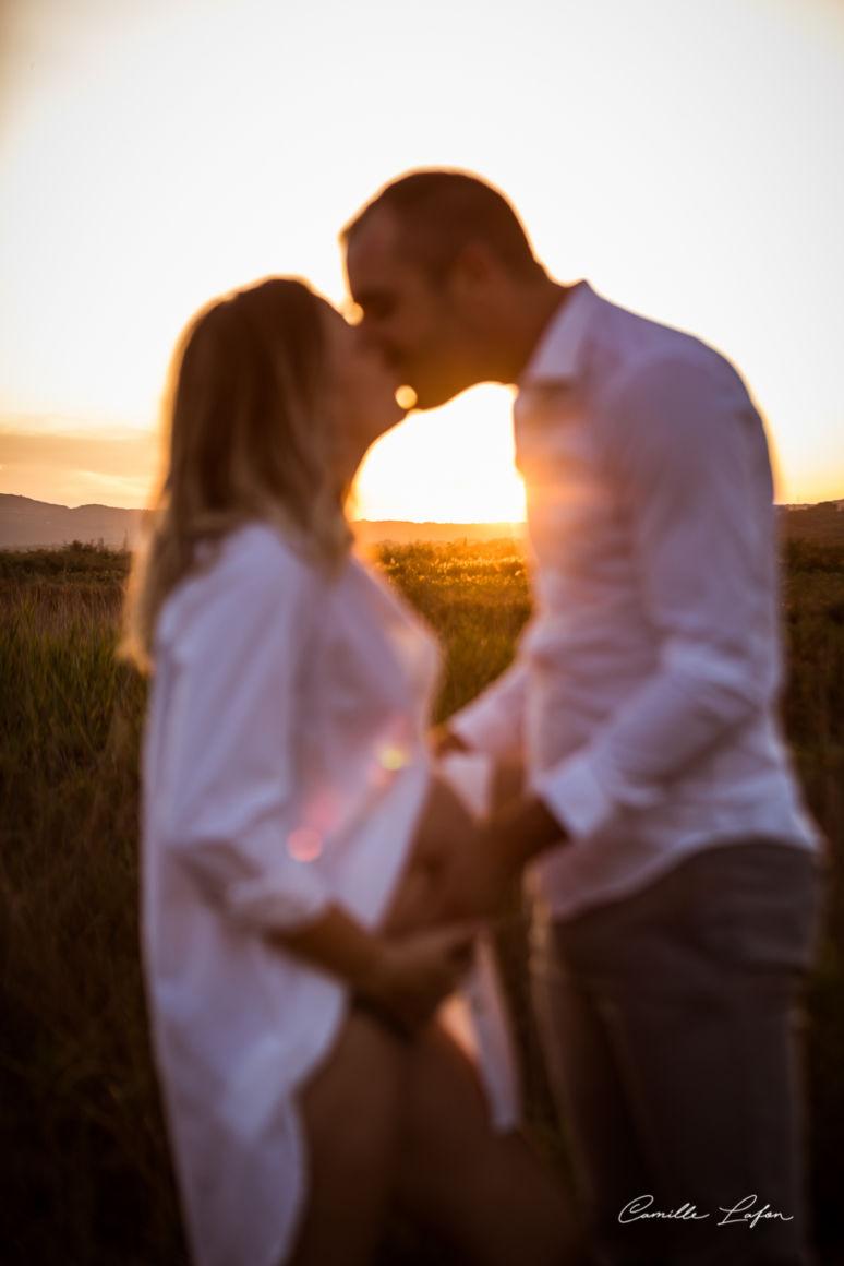 photographe grossesse montpellier famille naissance sunset sete