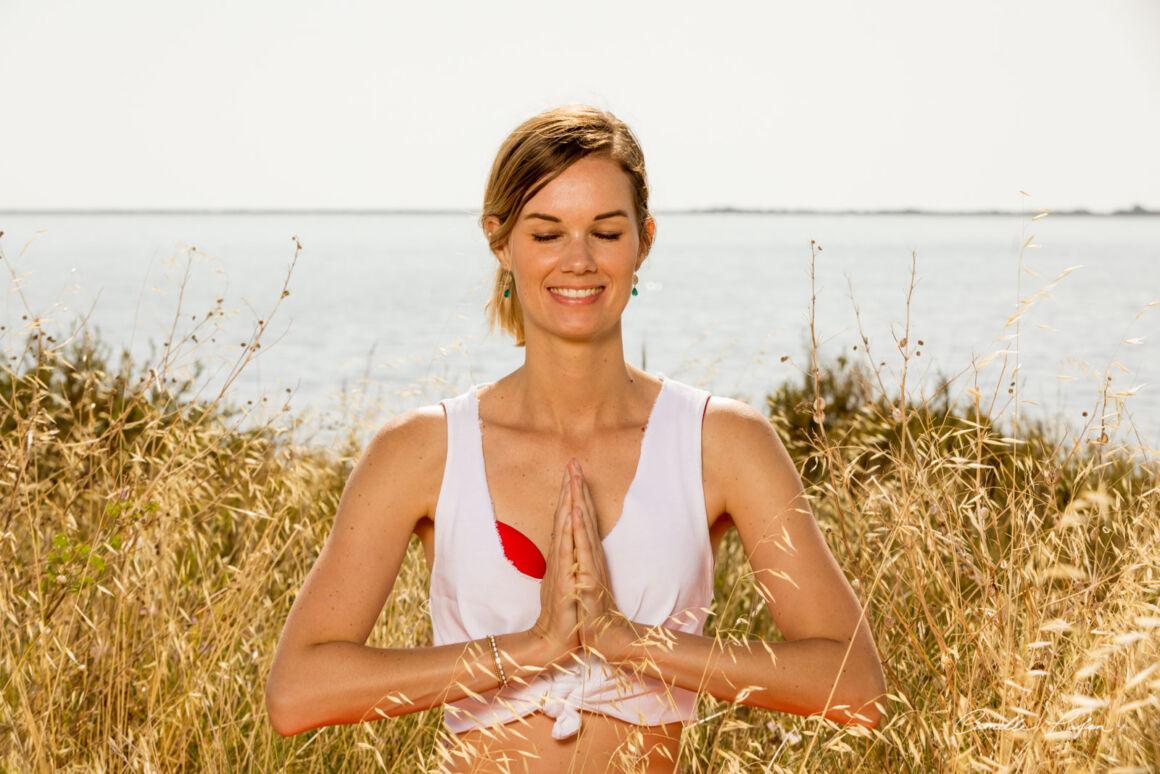photographe yoga montpellier publicite coach professionnel